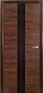 Межкомнатные двери Двері Ванкувер НСД горіх італійський зі склом