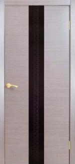 Межкомнатные двери Двері Ванкувер НСД сандал зі склом
