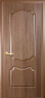 Межкомнатные двери Двері Вензіль Новий Стиль золота вільха делюкс глухе