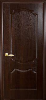 Межкомнатные двери Вензель Новый Стиль каштан делюкс глухое