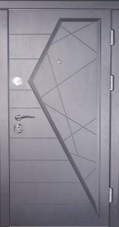 Двери Very Dveri Айсберг Vip Plus графит