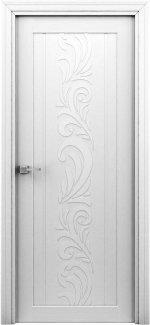 Двери Весна белый жемчуг без молдинга