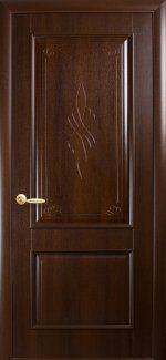 Двери Вилла Новый Стиль каштан Делюкс глухое