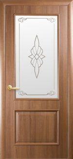 Распродажа Двери Вилла Новый Стиль золотая ольха. со стеклом