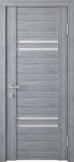 Межкомнатные двери Мерида Новый Стиль бук кашемир стекло графит