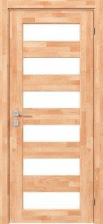 Двери Родос Woodmix Master сосна натуральная полустекло