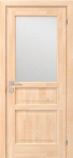 Межкомнатные двери Двері Woodmix Praktic Родос сосна натуральна напівскло