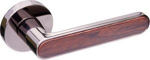 Ручка Gavroche Barium BN/BO черный никель / коричневый дуб
