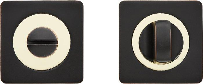 Фиксатор A1 ORB/PB черный мат / полированное золото