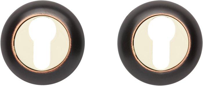 Gavroche Накладка под цилиндр A5 ORB/PB черный мат с патиной / полированное золото