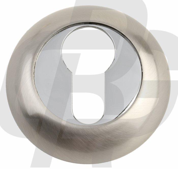 Gavroche Накладка под цилиндр A5 SN/CP матовый никель / полированный хром