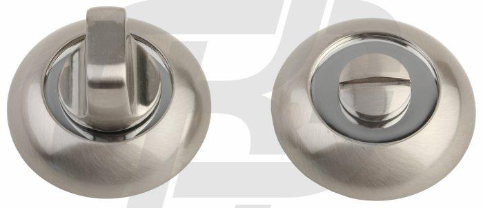 Фиксатор A5 SN/CP матовый никель / полированный хром