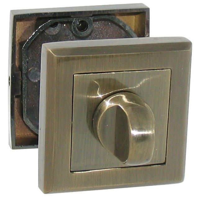 Фиксатор квадратный старая бронза