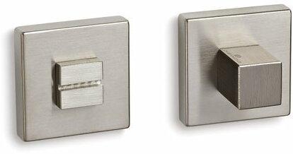 Фиксатор квадратный матовый никель