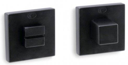 Фиксатор квадратный черный мат