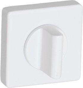 Фиксатор квадратный AL7 белый глянец