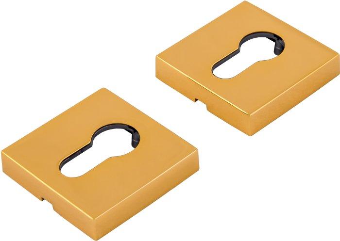 Forme Квадратная накладка под цилиндр Золото