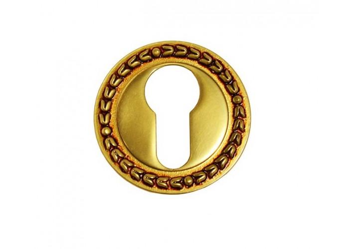 Linea Cali Накладка под цилиндр 009 французское золото