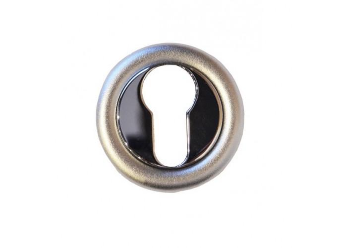 Linea Cali Накладка под цилиндр 103 хром матовый/хром полированный