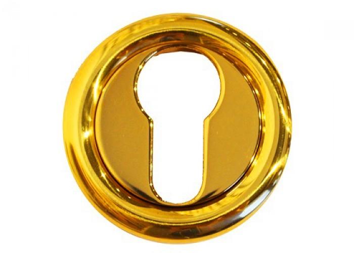 Linea Cali Накладка под цилиндр 103 золото полированное