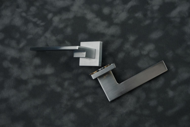 Ручки Safita Step HT SC матовый хром - Дверные ручки — фото №14