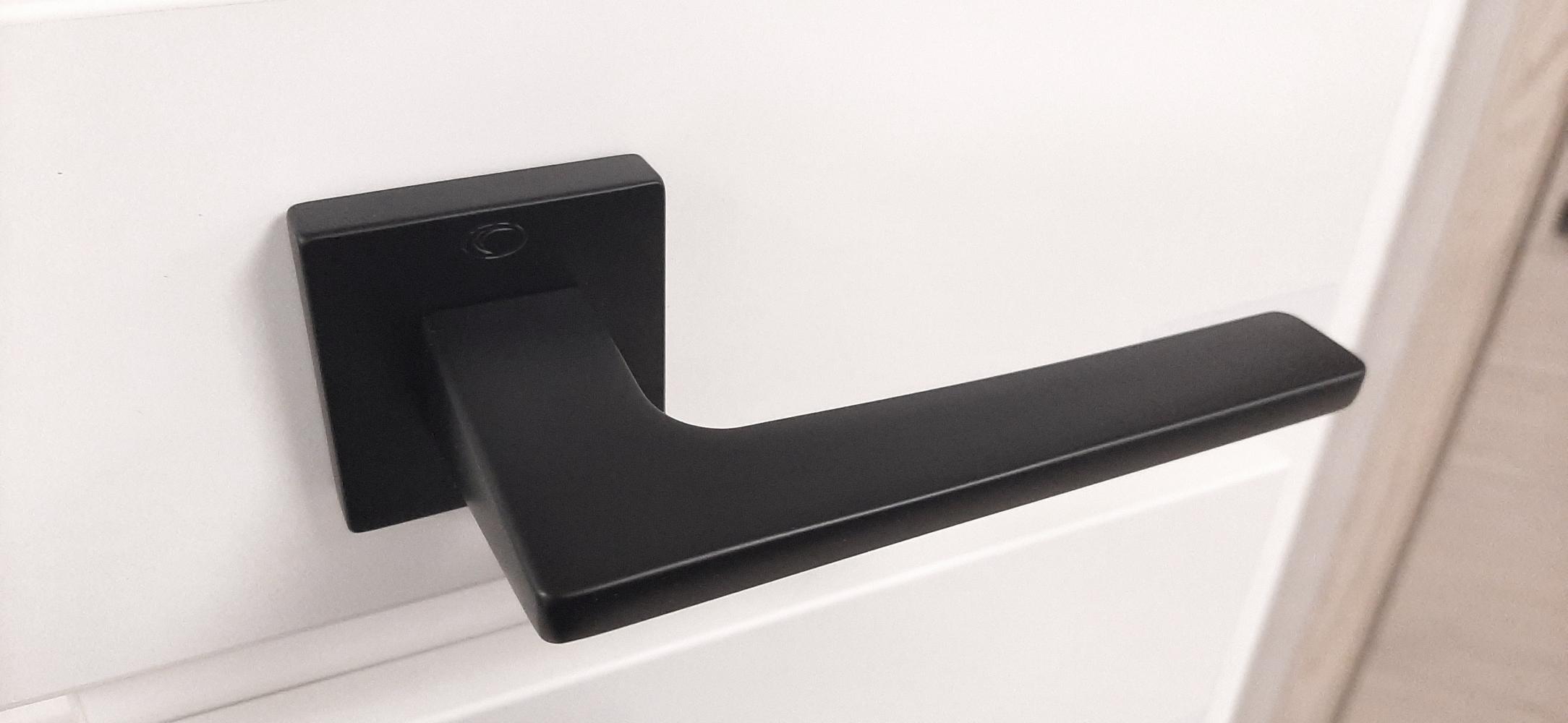 Ручки Convex 1495 черный мат - Дверные ручки — фото №1