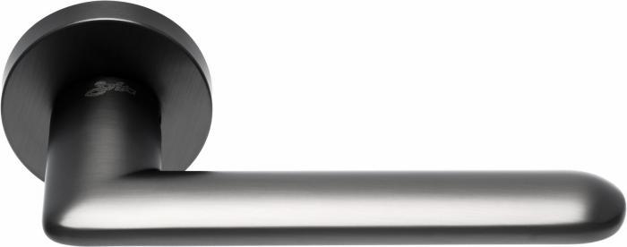 Ручки Safita Comet RD MSB графит матовый - Дверные ручки — фото №1