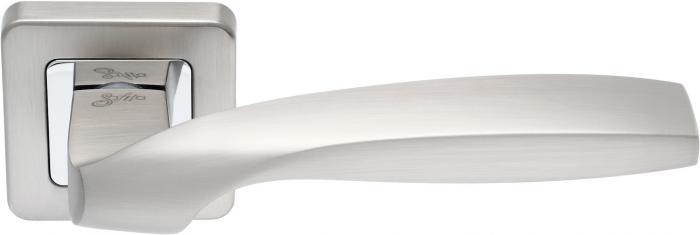 Ручки Safita Twist SQ MSN матовый сатин никель - Дверные ручки — фото №1