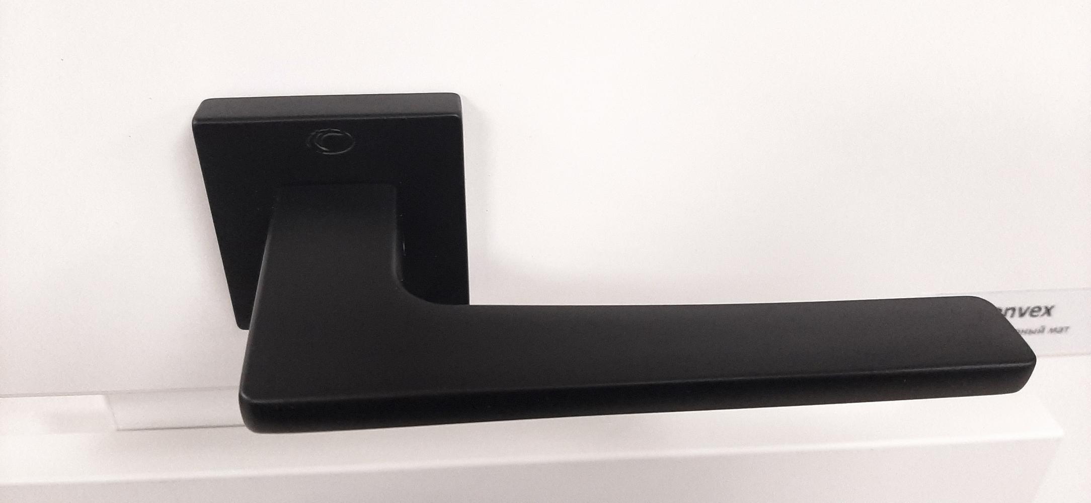 Ручки Convex 1495 черный мат - Дверные ручки — фото №2