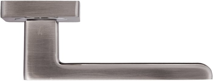 Ручки Gavroche Lanthanum SN/CP матовый никель / полированный хром - Дверные ручки — фото №2