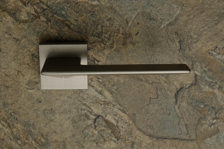 Ручки Safita Flat HT MSN матовый сатин никель - Дверные ручки — фото №2