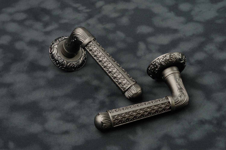 Ручки Safita R08 H195 BB античное серебро - Дверные ручки — фото №2