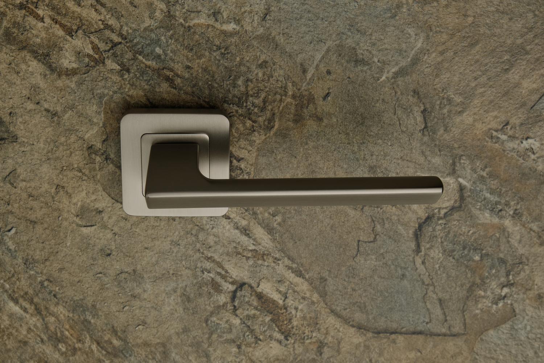 Ручки Safita Razor SQ MSN матовый сатин никель - Дверные ручки — фото №2