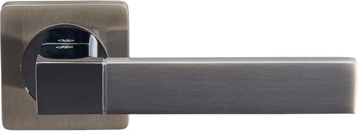 Ручки Gavroche Stannum SN/CP матовый никель / полированный хром - Дверные ручки — фото №2