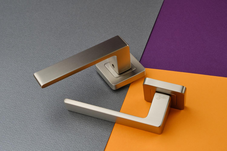 Ручки Safita Prime SQ MSN матовый сатин никель - Дверные ручки — фото №3