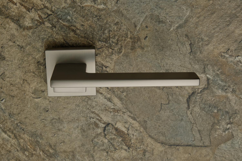 Ручки Safita Step HT MSN матовый сатин никель - Дверные ручки — фото №3