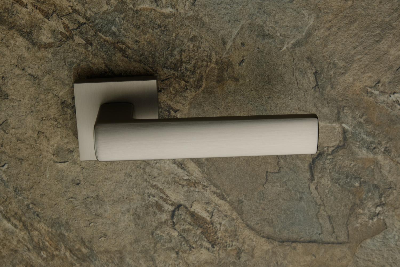 Ручки Safita Strong HT MSN матовый сатин никель - Дверные ручки — фото №3
