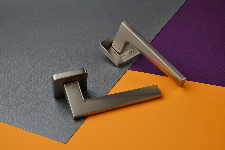 Ручки Safita Urban SQ MSN матовый сатин никель - Дверные ручки — фото №3