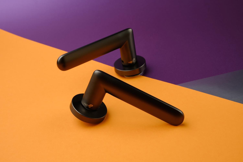 Ручки Safita Comet RD MSB графит матовый - Дверные ручки — фото №5
