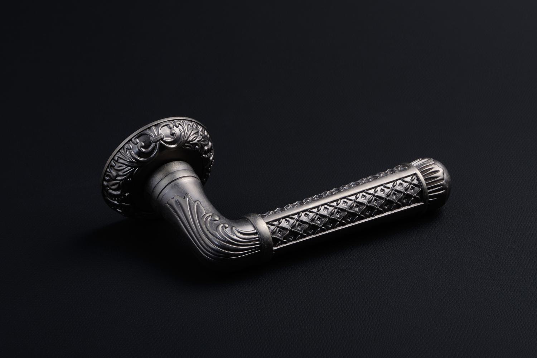 Ручки Safita R08 H195 BB античное серебро - Дверные ручки — фото №5