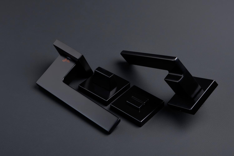 Ручки Safita Step HT FB черный мат - Дверные ручки — фото №5