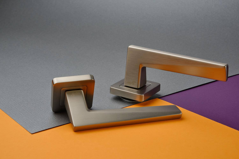 Ручки Safita Urban SQ MSN матовый сатин никель - Дверные ручки — фото №5
