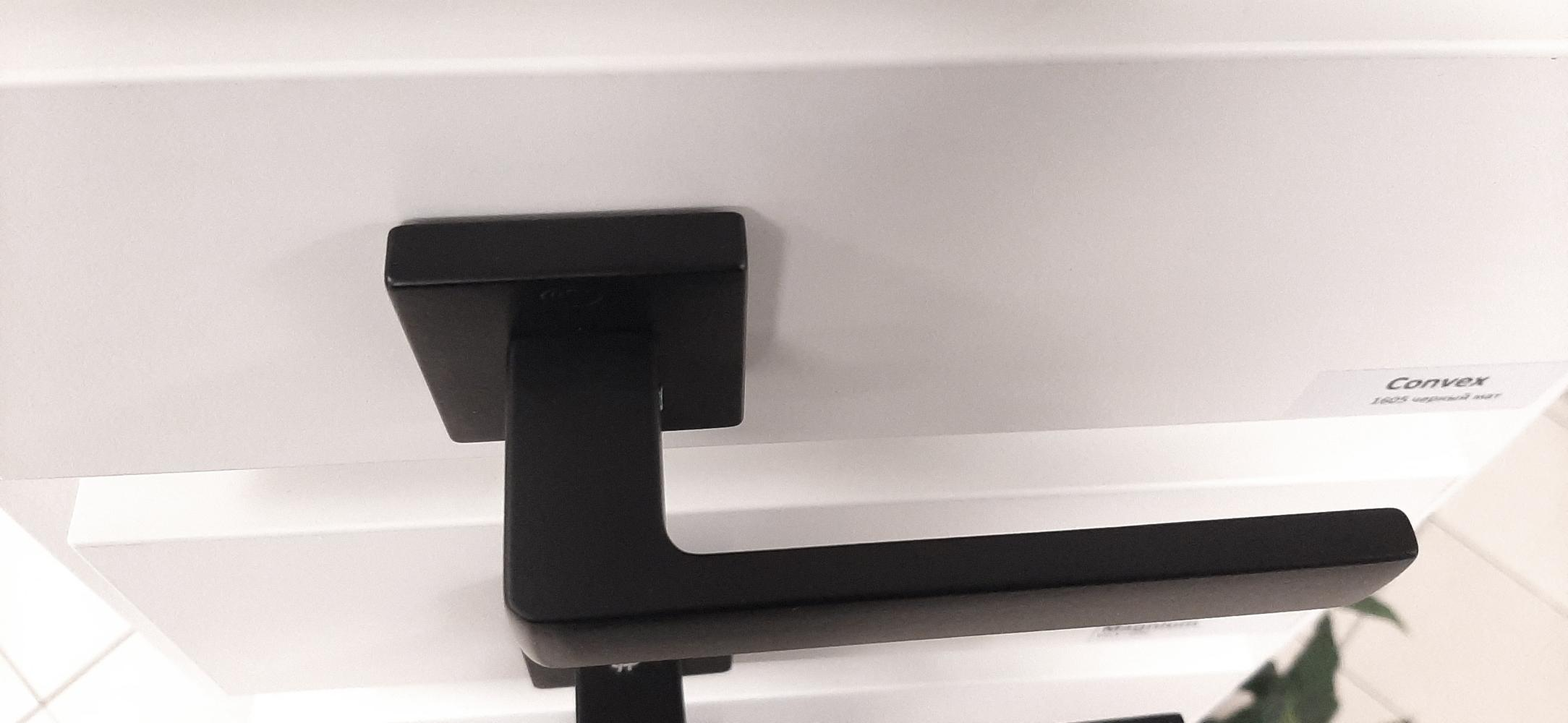 Ручки Convex 1605 черный мат - Дверные ручки — фото №6