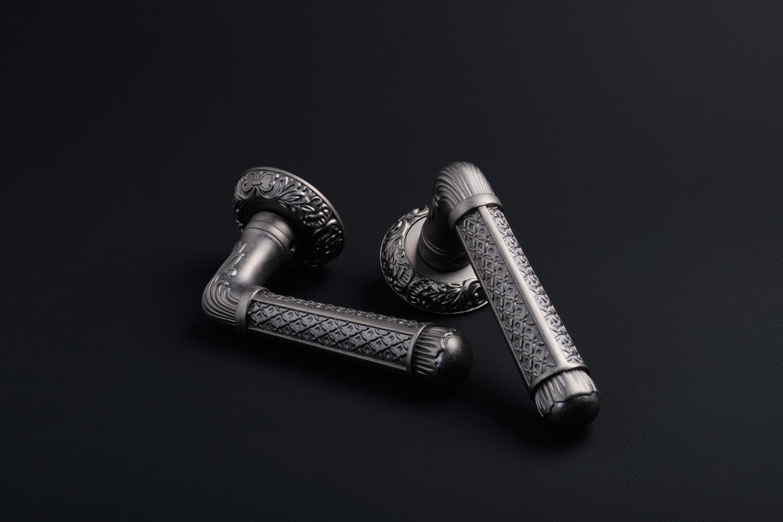 Ручки Safita R08 H195 BB античное серебро - Дверные ручки — фото №6