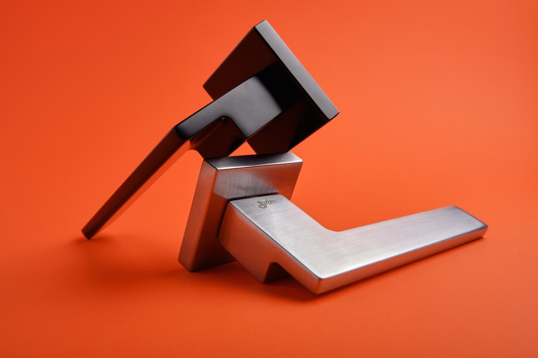 Ручки Safita Step HT SC матовый хром - Дверные ручки — фото №7