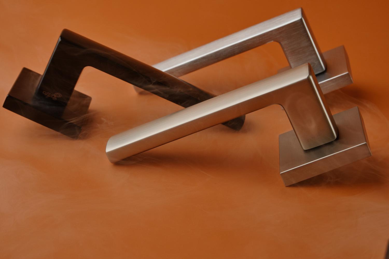 Ручки Safita Strong HT SC матовый хром - Дверные ручки — фото №8