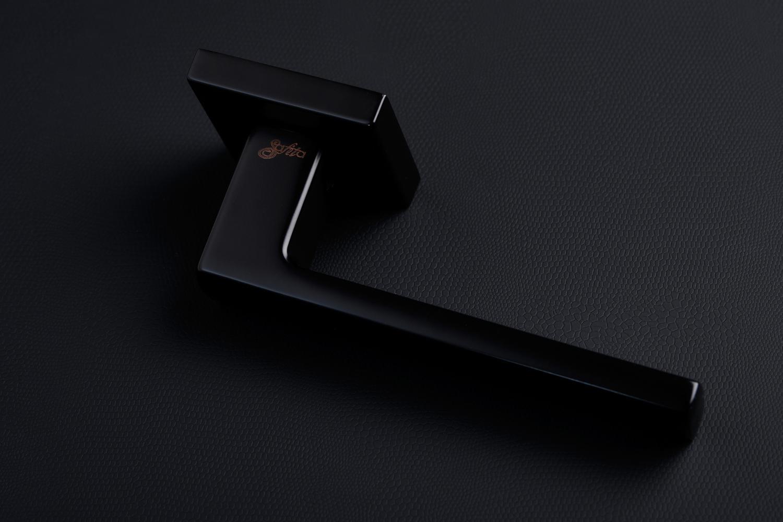 Ручки Safita Strong HT FB черный мат - Дверные ручки — фото №9