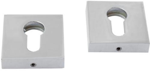 RDA Квадратная накладка под цилиндр хром полированный
