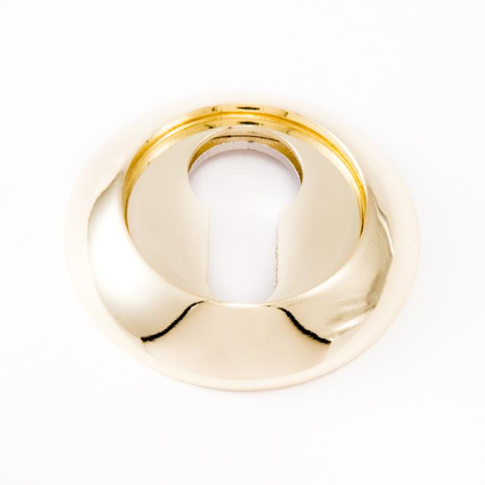Safita Original Накладка под цилиндр PZ R14 полированное золото