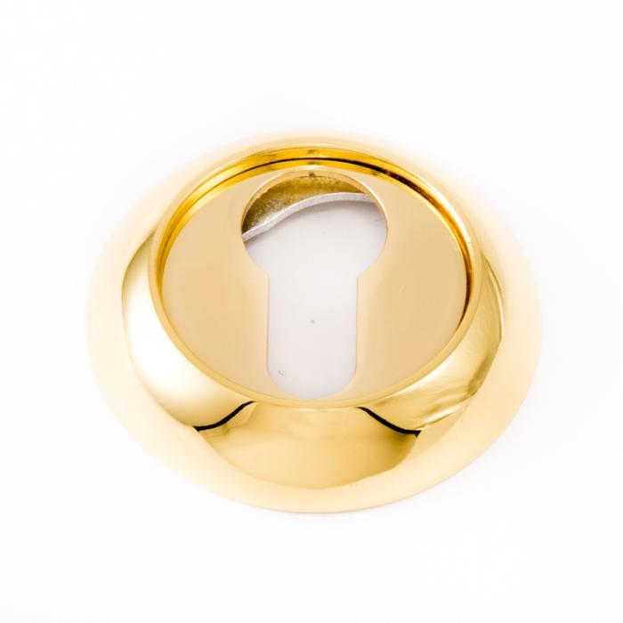 Safita Original Накладка под цилиндр PZ R47 полированное золото